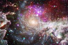 As nebulosa e muitas protagonizam no espaço Elementos desta imagem fornecidos pela NASA fotografia de stock royalty free