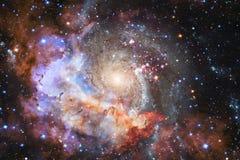 As nebulosa e muitas protagonizam no espaço Elementos desta imagem fornecidos pela NASA imagens de stock