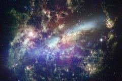 As nebulosa e muitas protagonizam no espaço Elementos desta imagem fornecidos pela NASA fotos de stock