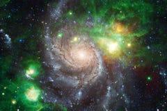 As nebulosa e muitas protagonizam no espa?o Elementos desta imagem fornecidos pela NASA fotografia de stock