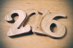 2016, as the new year Stock Images