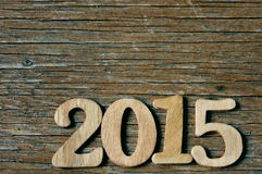 2015, as the new year Stock Image