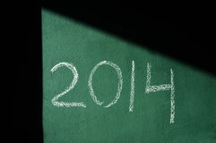 2014, as the new year Stock Photo