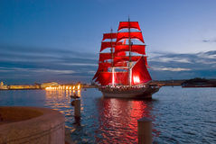 As noites brancas de Petersburgo. fotos de stock royalty free