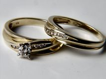 As noivas Imagem de Stock Royalty Free