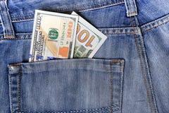 As notas de dólar novas dos E.U. cem puseram na circulação o 20 de outubro Imagens de Stock Royalty Free