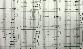 as notas musicais acompanham-nos ao longo da vida imagens de stock