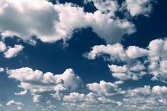As nuvens Fotografia de Stock