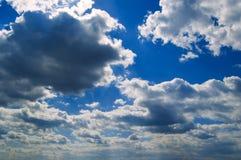 As nuvens. Fotos de Stock