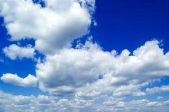 As nuvens. Imagem de Stock