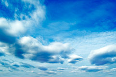As nuvens. fotografia de stock royalty free