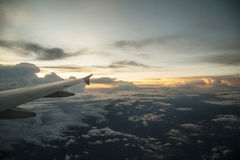 As nuvens Fotografia de Stock Royalty Free