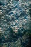 As nuvens de tempestade poderosas grandes Fotos de Stock Royalty Free
