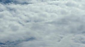 As nuvens do lapso de tempo, nuvem inchado de rolamento est?o movendo-se, o lapso de tempo branco das nuvens dos lightnes Ultra n vídeos de arquivo