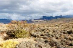 As nuvens estão vindo - paisagem de Klaarstroom Fotos de Stock