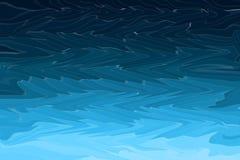 As ondas azuis abstratas da curva textured o fundo moderno Ondas da tempestade do oceano ou do mar ilustração stock