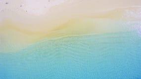 As ondas estão flutuando na praia Fotos de Stock Royalty Free