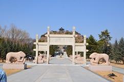 Zhaojun Tomb stock images