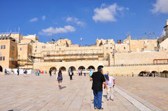 Parede lamentando de Jerusalem Imagens de Stock Royalty Free