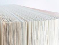 As páginas do livro fecham-se acima Foto de Stock Royalty Free