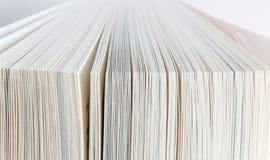 As páginas do livro fecham-se acima Fotografia de Stock