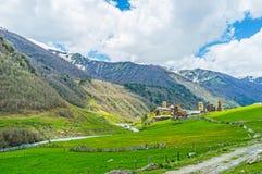 As pérolas de Svaneti superior Imagens de Stock