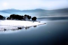 As paisagens Batak 14. Imagem de Stock