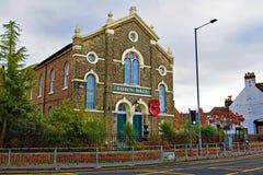 As papoilas centenárias indicam em Selby Town Hall imagem de stock