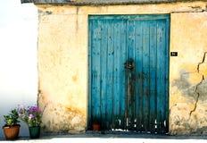 As paredes antigas. Imagem de Stock