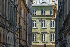 As paredes da construção velha Foto de Stock