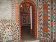 As paredes dentro da catedral do russo Imagem de Stock Royalty Free