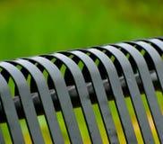 As partes de um ferro fizeram a fotografia do fundo da cadeira Foto de Stock Royalty Free
