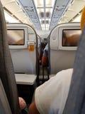 As partes traseiras dos assentos fotografia de stock
