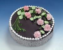 As pastelarias, bolo de chocolate Fotografia de Stock Royalty Free