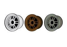 As peças do carro do equipamento da roda de RPF1 max propelem Fotografia de Stock