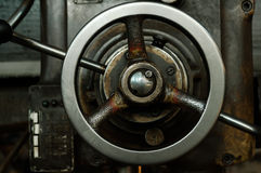 As peças velhas da máquina fotos de stock