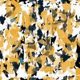 As pedras azuis pretas alaranjadas em um fundo claro vector a ilustração Foto de Stock Royalty Free