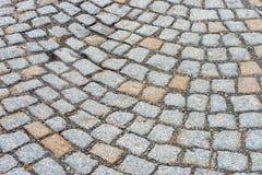 As pedras de pavimentação Foto de Stock
