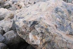 as pedras no litoral Imagem de Stock Royalty Free