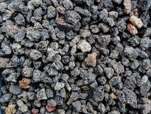 As pedras porosas naturais da rocha vulcânica usaram-se para decorar o jardim ou as partes da casa interna ou exterior fotografia de stock royalty free