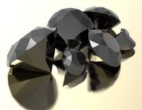 As pedras preciosas 3d rendem Fotos de Stock Royalty Free
