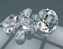 As pedras preciosas 3d rendem Foto de Stock Royalty Free