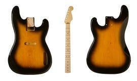 As placas para guitarra de construção Fotos de Stock Royalty Free