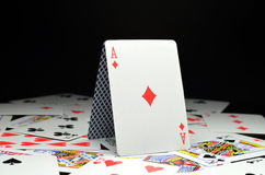 As, Playing cards Royalty Free Stock Photo