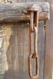 As porta de eclusa velhas do ferro - estilo do vintage. Fotografia de Stock Royalty Free