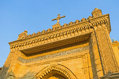 As portas à igreja de suspensão Imagem de Stock