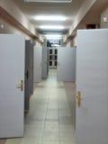 As portas fotografia de stock