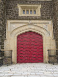 As portas do castelo Fotografia de Stock Royalty Free