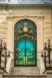 As portas do palácio grande Banguecoque Tailândia fotografia de stock royalty free