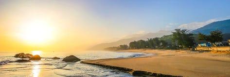 As praias bonitas de Nanaodao Foto de Stock